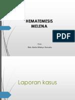 PPT Hematemesis Melena