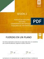 Sesion 2 - Equilibrio Particula 2d