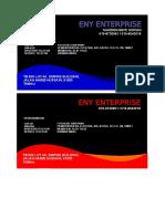 Bisnes Kad Eny Enterprise
