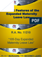 Expanded Maternity Leave Law3