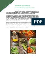 alimentacion anticancerigena