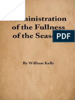 Administration of the Fullness of the Seasons - W. Kelly - 16181