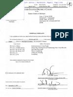 Affidavit of Wrongdoing Within the UAW