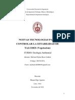 Estabilidad de Taludes (Vegetacion)