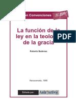 Roberto Badenas - La función de la ley en la teología de la gracia (1986).pdf