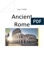 ancient rome research handbook