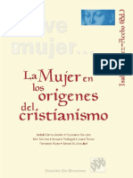 La mujer en los orígenes del Cristianismo - Isabel GÓMEZ-ACEBO