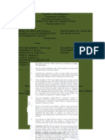 CALAUS vs. BUYA, ARIZALA-Falsification of Public Document, Theft, Estafa - RESOLUTION.doc