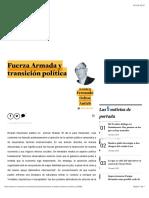 Fuerza Armada y Transición Política
