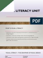 visual literacy unit - techniques presentation