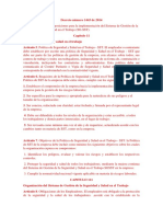 Decreto Número 1443 de 2014