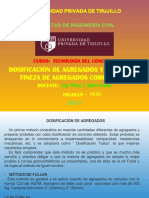DOSIFICACION DE AGREGADOS SEMANA2