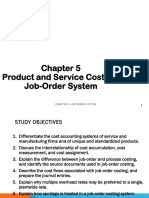 Chapter 5 - Job Order Costing