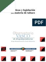 Politicas y Legislacion en Materia de Tabaco