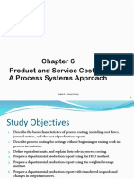 Chapter 6 - Process Costing