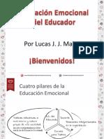 Educación Emocional Del Docente