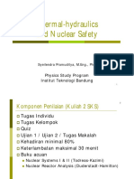Dr. Syeilendra Pramuditya - Lecture Notes on Thermal Hydraulics and Nuclear Safety