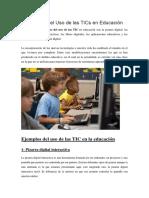 7 ejemplos de TICs en la educación