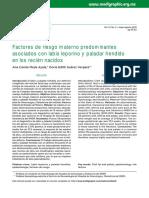 Factores de riesgo materno asociadas a labio y paladar hendido en recien nacidos. pdf.pdf