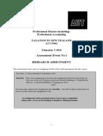 Tax Avoidance Term 2 2019