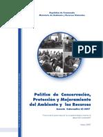 Política Conservación, protección del Ambiente y recursos naturales.pdf
