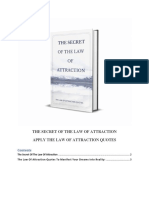 The Secret of the Law of Attraction - Apply the Law of Attraction Quotes