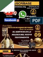 Lección 09 - El Servicio en La Iglesia Del Nuevo Testamento, Joel Medina