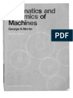 Kinematics and Dynamics of Machines by George H.martin 2 Ed