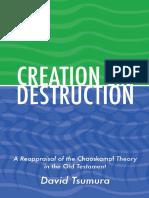 [Tsumura, David Toshio] Creation and Destruction