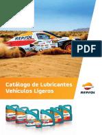 Catalogo Repsol de Aceites y Lubricantes Vehiculos Ligeros