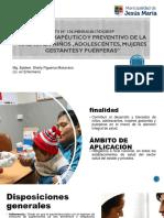 06 Manejo Terapéutico y Preventivo de La Anemia en Niños , Adolescentes, Mujeres Gestantes y Puérperas