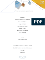 Paso 2 - Protocolo de Comunicaciones y Plan Motivacional