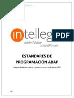 Estandares de Programación Abap v1.5
