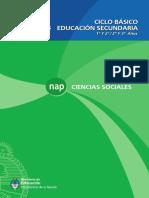 NAP Ciencias Sociales, Educación Secundaria, Ciclo Básico