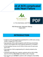 Management of ACS Complicated With Acute Heart Failure Dr Budiana