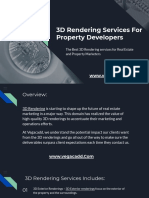 3D Rendering Services for Property Developers