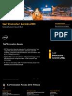SAP Innovation Awards 2019 eBook