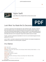 Hit Songs Deconstructed Taylor