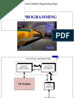 VR Programming Unit V