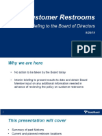 Sound Transit - Public Restroom Policy Update - September 2019