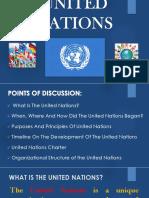 United Nation PPT Presentation