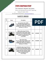 Quatation Safety Shoes (Company).