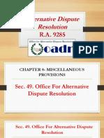 Adr Report