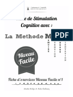 Exercices Autonome a Domicile FACILE