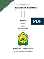 laporan praktikum kimia