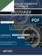 Maquinas de Corriente Continua - Motores