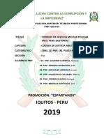 Monogrfia Historia Codigo Justicia Militar Policial