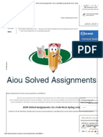 AIOU Solved Assignments 1 & 2 Code 8620 Spring 2019 _ AIOU Tutors.pdf