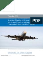 Circolare 353 ICAO RNAV to RNP on Charts
