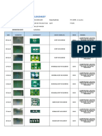 Micronic Solder Paste Evaluation Logsheet